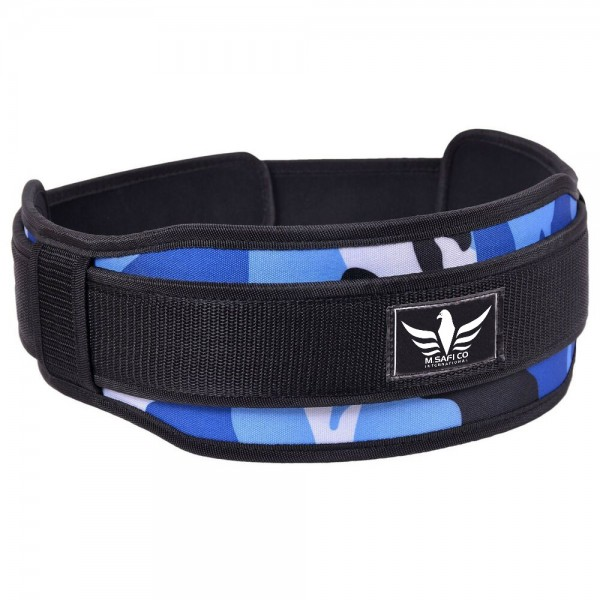 Neoprene Weight Lifting Double Belt Camouflage