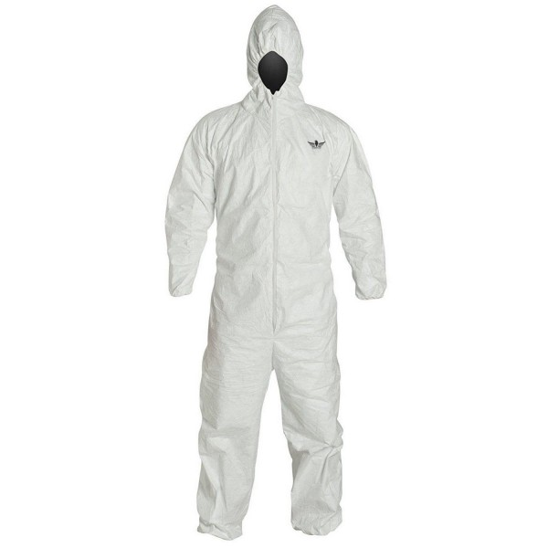 Disposable Coverall With Hood Elastic Cuff