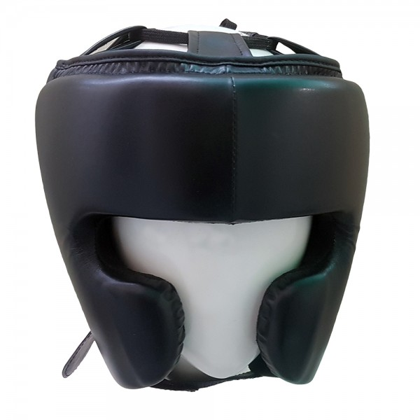 New Pro Boxing Maya Real Leather MMA Protector Headgear