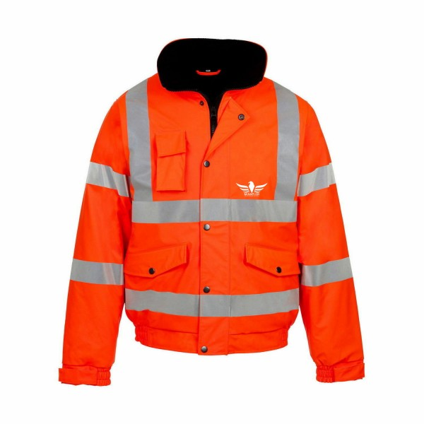 Hi Vis Viz High Visibility Men's Safety Orange